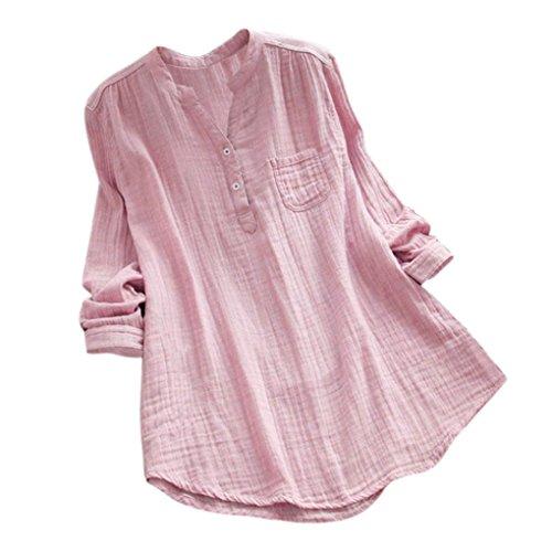 ESAILQ Damen T-Shirt Armelloses Top Frauen Verstellbare Schultergurte Runden Hals Leibchen Crop Top(S,Rosa)