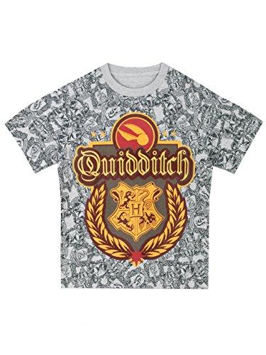 Harry Potter - Camiseta para niño de Harry Potter - Quidditch - 7 a 8