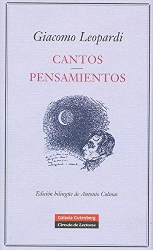 Cantos y Pensamientos (POESÍA) por Giacomo Leopardi