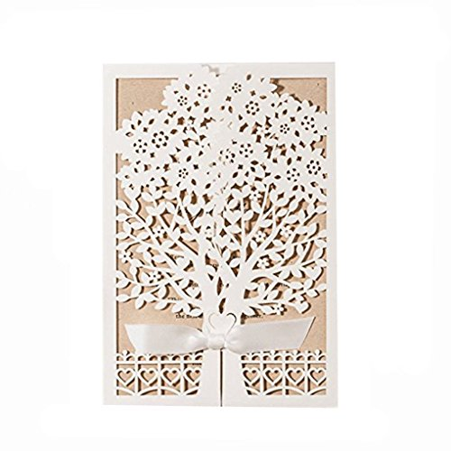 newest-white-laser-cut-flowers-tree-silk-tie-wedding-invitations-cards-pezzi