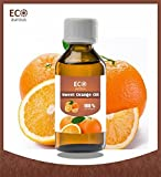 Eco Aurous Sweet Orange Oil 100% Pure and Natural essential oil 30ml