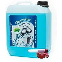 Cabezal de limpiador cleanerist para afeitadora Philips de las series 5000/7000/8000/9000con grifo sabeu Fluxx®–Garrafa de 5l, en