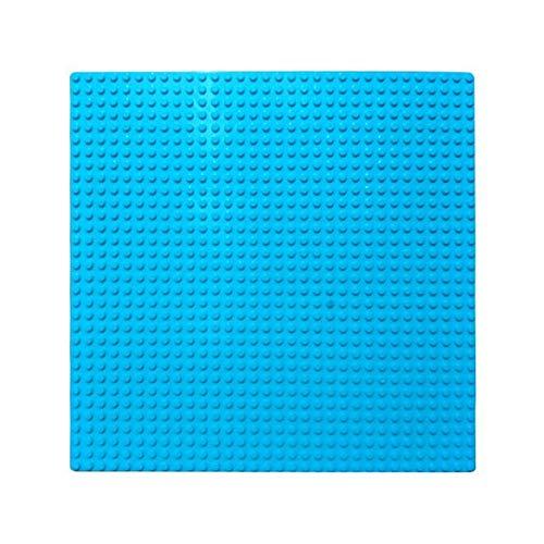 32x32 Dot Grundplatte Große Größe Große Grundplatte Bodenplatte für Figur DIY Baustein Spielzeug 100% Kompatibel mit Lego (4 Packung),Blue - Grundplatten Großen Lego