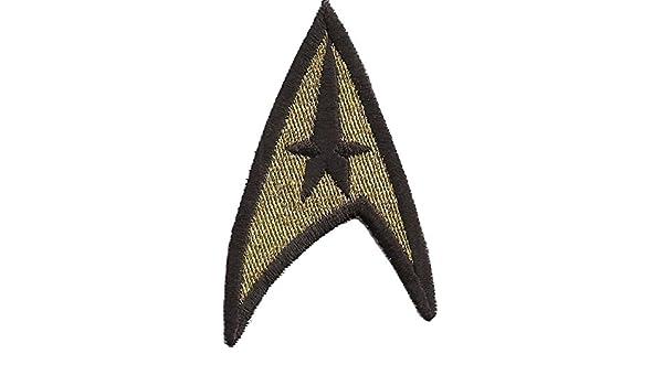 Commander Star Trek Captain STARTREK Kommander Aufn/äher Patch Abzeichen Uniform