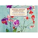 Fuchsia Blooms Sticky Notes Portfolio