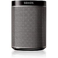 Sonos Play:1 Enceinte sans-fil multiroom wifi, haut-parleur hifi connecté pour diffuser votre musique préférée à partir de votre téléphone (iPhone, Android), tablette et ordinateur PC/Mac  - Noir