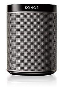 Sonos Play:1 Enceinte sans-fil multiroom wifi, haut-parleur hifi connecté pour diffuser votre musique préférée à partir de votre téléphone (iPhone, Android), tablette et ordinateur PC/Mac - Noir (B00FSCNODU) | Amazon Products