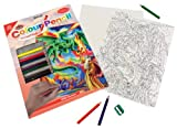 Royal Langnickel CPN5 - Malen nach Zahlen mit Buntstiften - Zauberer