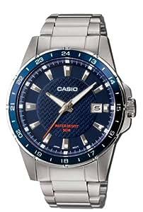 Casio Collection Montre Homme Analogique Quartz avec Bracelet en Acier Inoxydable – MTP-1290D-2AVEF