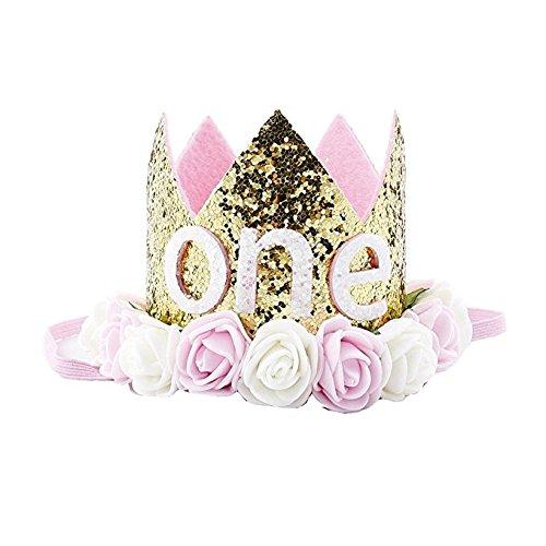 LK.8871 1PCS Kinder Krone Stirnband Baby Geburtstagsparty Stirnband(D)
