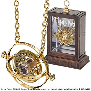 Noble Collection Hermione Time Turner – 24K Plated