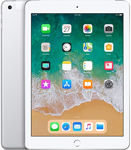Apple iPad 9,7' Display Wi-Fi + Cellular 128GB - Silber