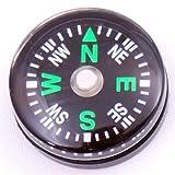 SODIAL(R) 24 Brujulas Pequenas 20 mm para Kit de Supervivencia