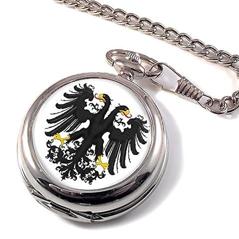 Der heraldischen Imperial Eagle Full Hunter Taschenuhr