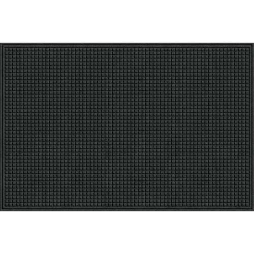 Apache Mills 78-880-1907 Eco Mat Squares Entrance Door Mat, Onyx, 4-feet by 6-Feet by Apache Mills -