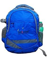 Himalayan Adventures 25 Ltrs Blue, Backpack/Rucksack/Travelling Bag/Hiking Bag/Adventure Bag/Camping Bag (Nylon...