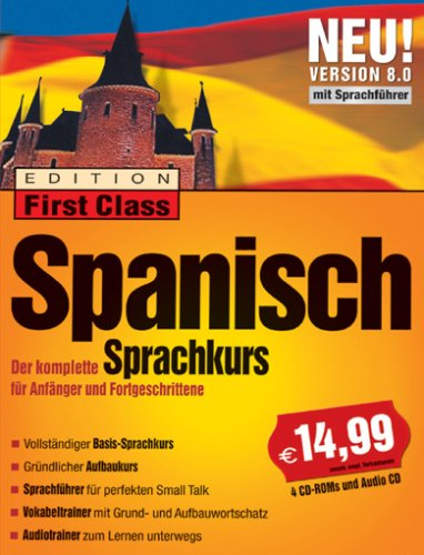 First Class Sprachkurs Spanisch 8.0 (DVD-Verpackung)