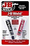 J-B Weld 8265S Kaltschweißstahlverstärktes Epoxidharz mit Härter, 57 g von J-B Weld