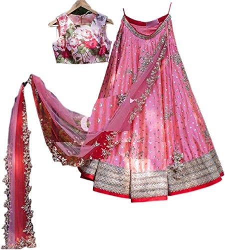 ShreeMadhav Enterprise Women's Taffeta Silk Anarkali lehenga choli for women,lehngha,lehenga choli anarkali,Lehenga...