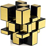 #9: CH. R & S Toys Shengshou 3X3X3 Speed Golden Mirror Magic Cube - Golden
