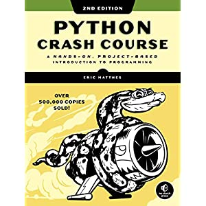 510 dE3N1PL. SS300  - Python Crash Course, 2nd Edition: A Hands-On, Project-Based Introduction to Programming
