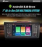 Autoradio Erisin Car Stero ES7453B 7' Android 8.0 4G WiFi OBD- GPS Sa für BMW 5 Serie E39 E53 X5 M5