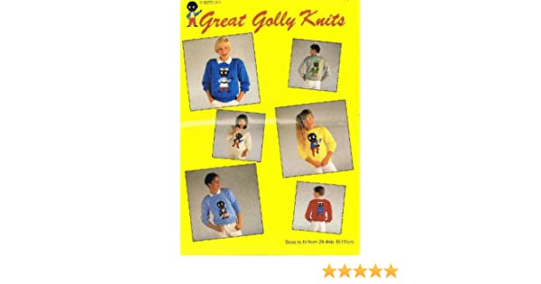 Robertsons Great Golly Knits Knitting Patterns For Jumpers To Fit