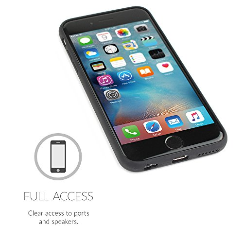 over iPhone 6 Plus e 6S Plus, Snugg Apple iPhone 6 Plus e 6S Plus Custodia Case [Vero Legno] TPU Ultra-Slim Protettiva Pelle - Palissandro Rosewood