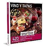 SMARTBOX - Caja Regalo hombre mujer pareja idea de regalo - Vino y tapas - 420 actividades como tapeo en restaurantes y visitas a bodegas con denominación de origen