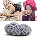 BarRan 250g Warm Sperrig Klobig Wolle Roving Garn DIY Hand Stricken Hut Schal Decke