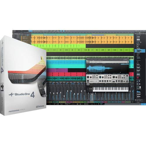 Presonus Studio One 4 Professional/Boxed -Channel Multitrack Recording Software (Software Os)
