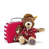 Steiff 024504 Teddyb.Berni 26 braun i.Koffer FC Bayern