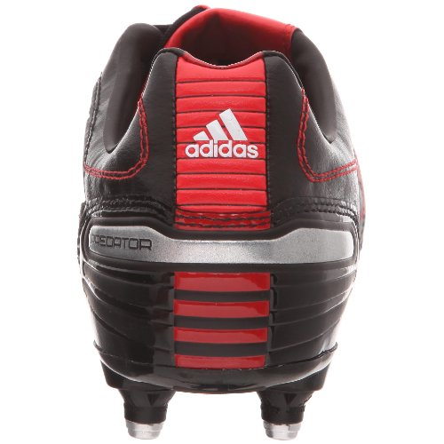 Adidas X Absolado_x Sg, Unisex-Erwachsene Fußballschuhe Schwarz (noir/blanc Prédator/rouge Prédator)