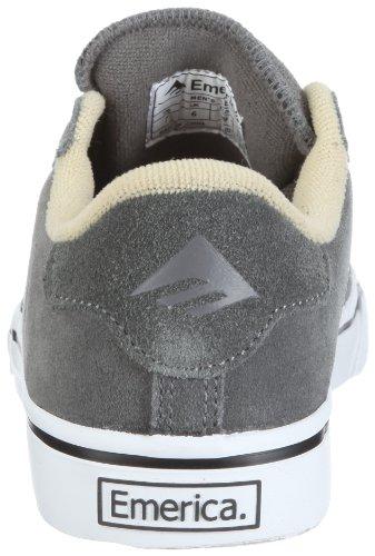 Emerica LEO 6102000018, Baskets mode mixte adulte gris foncé