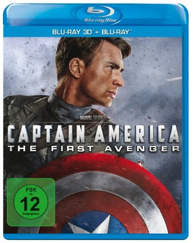 Bild von Captain America - The First Avenger  (+ BR) [3D Blu-ray]
