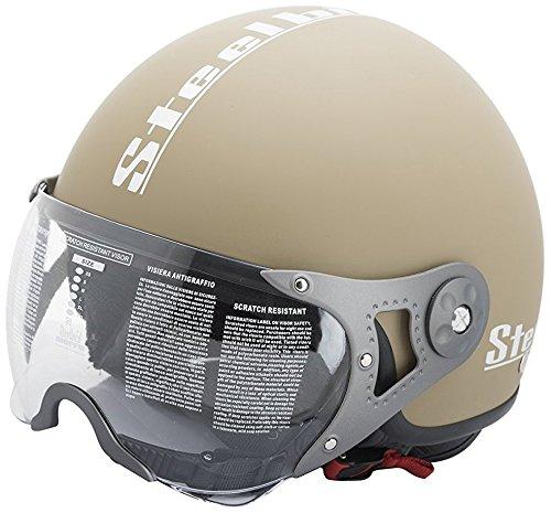 Steelbird SB-27 Style Open Face Helmet (Mat Desert Storm, L-600MM)
