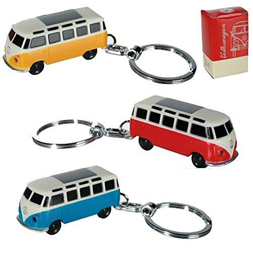 vw-volkswagen-keyring-light-led-fob-key-ring-chain-gift-camper-van-new-caravan-yellow