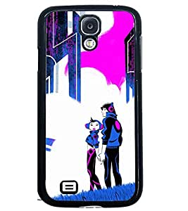 PRINTSWAG COUPLE Designer Back Cover Case for SAMSUNG GALAXY S4
