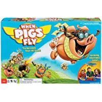 Poof-Slinky 0X2465 Id-al When Pigs Fly jeu avec Spinning base -lectronique et Overhead c-ne nuageux