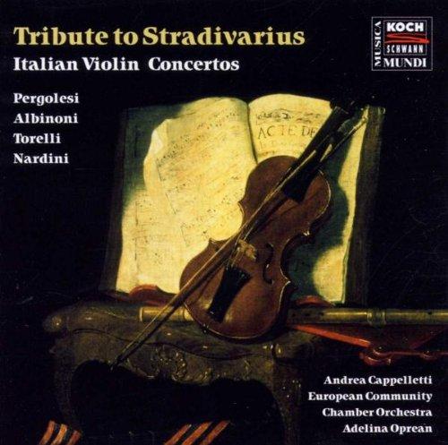 Tribute To Stradivarius (Italienische Violinkonzerte) Ecco Berlin