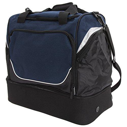 Quadra Pro Team Hardbase Sporttasche (40 Liter) Blau/Schwarz/Weiß
