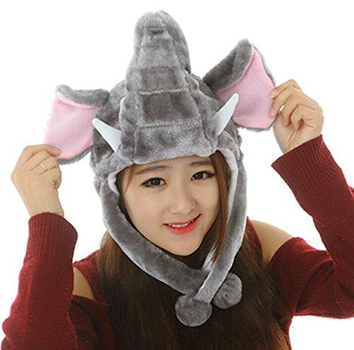 Yudanwin Perfekt für Partys Cute Cartoon Performance Kopfbedeckung -
