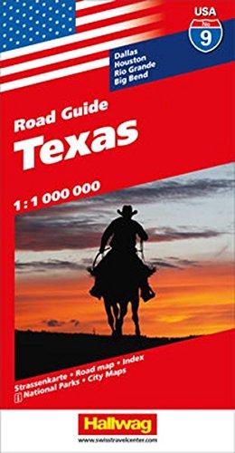 Hallwag USA Road Guide 09 Texas 1 : 1.000.000 (Hallwag Strassenkarten) -
