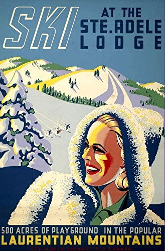 ski-at-the-ste-adele-lodge-wonderful-a4-glossy-art-print-taken-from-a-rare-vintage-travel-poster