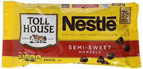 Nestle Semi Sweet Morsels, 1er Pack (1 x 170 g)