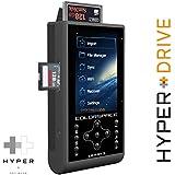 """1750 Go / 1,75 To HyperDrive COLORSPACE UDMA3 Professionnel stockage de photo / video avec intégré lecteur de carte CF/SDXC et le portable WiFi disque dur externe (6,35 cm (2,5"""") SATA HDD, USB 3.0, WiFi 802.11n 150 Mbit/s, 8,9 cm (3.5"""") Backlit-LCD, USB-OTG, 3x CF/SDXC lecteur, 30MB/s backup, incrémentielle backup, 2600mAh batterie). UDMA 3 with integrated 1750 GB / 1,75TB Hard Disk Drive (HDD). Offer of Digitalix24."""