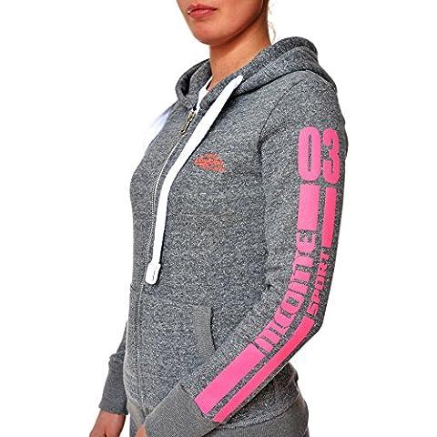 M.Conte Rebecca Mujer chaqueta Sweat-Shirt Sudaderas Manga largos con capucha