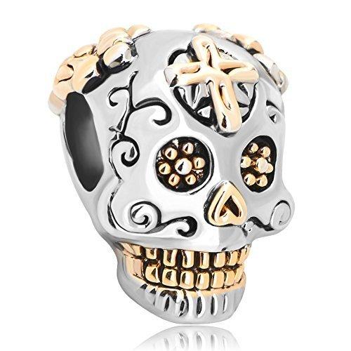 pugster-new-gold-plated-dia-de-los-muertos-skeleton-skull-cross-charm-beads-fits-pandora-bracelet
