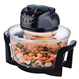 12 Litre Premium 1200W Halogen Oven Cooker with High Rack, Low Rack