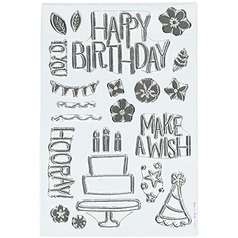 HERO Arts Make a Wish compleanno timbro di gomma